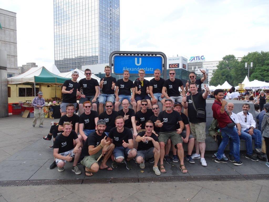 Slagwerkgroep verovert Berlijn