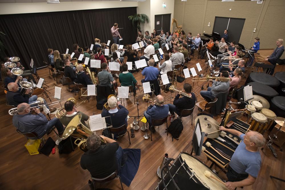 repetitie harmonie-orkest van muziekvereniging TOG Berlicum (c) Bart Coolen