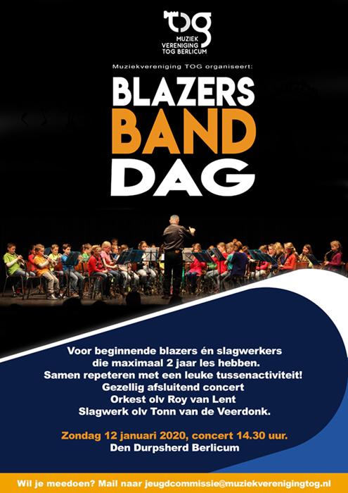 Blazersbanddag: Samen muziek maken is gaaf